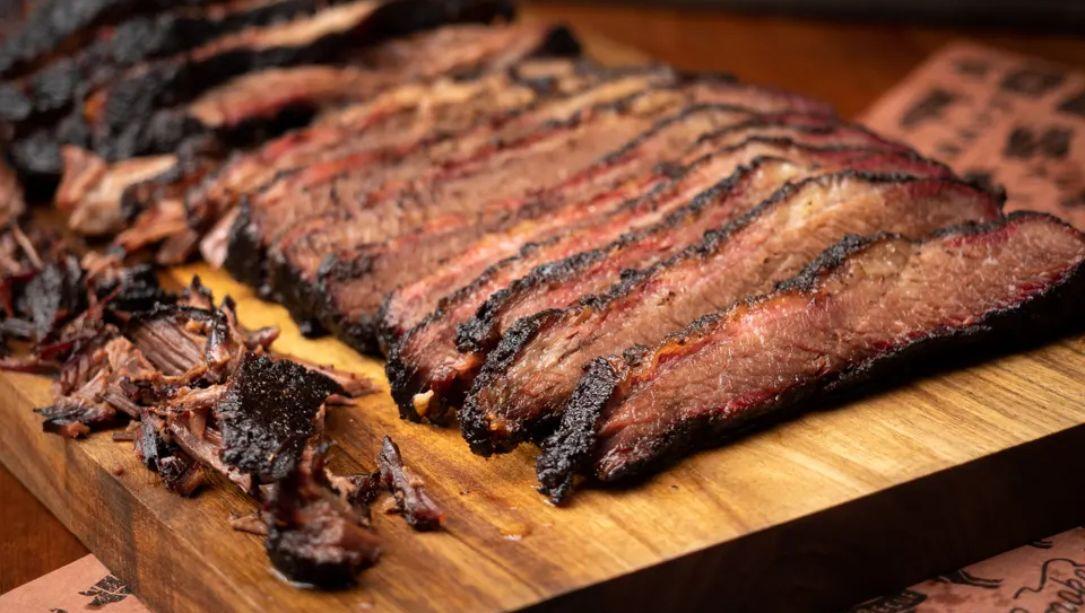 Smoked Beef Brisket with Texas Rub