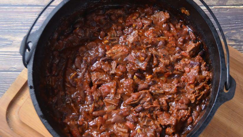 Smoked Brisket Chili Oklahoma Joe S