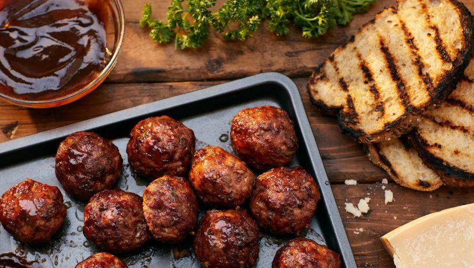 Smoked BBQ Meatball Recipe