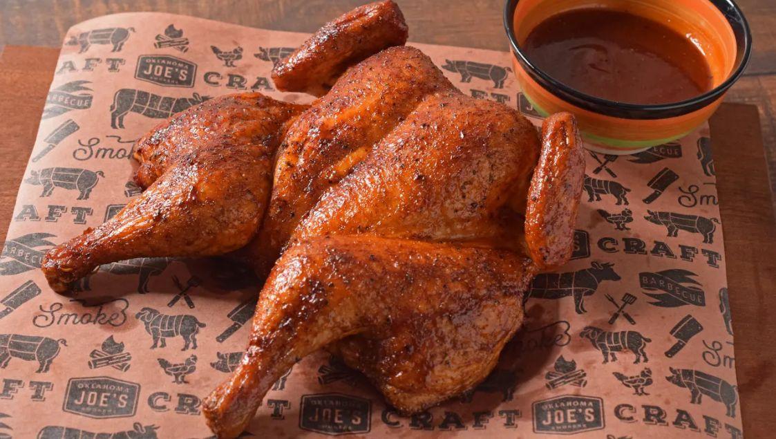 Bourbon Smoked Chicken