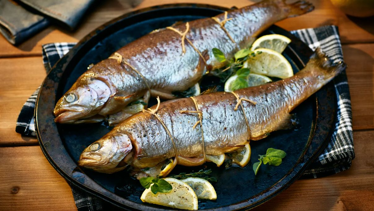 Smoked Whole Trout