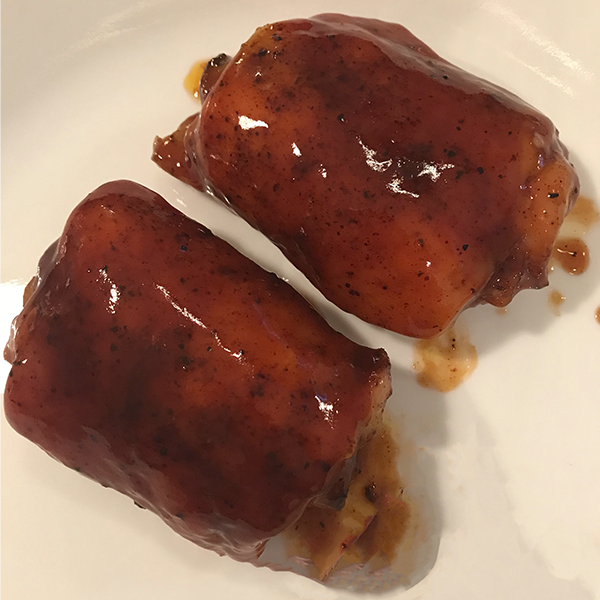 Competition-Style Chicken Thighs
