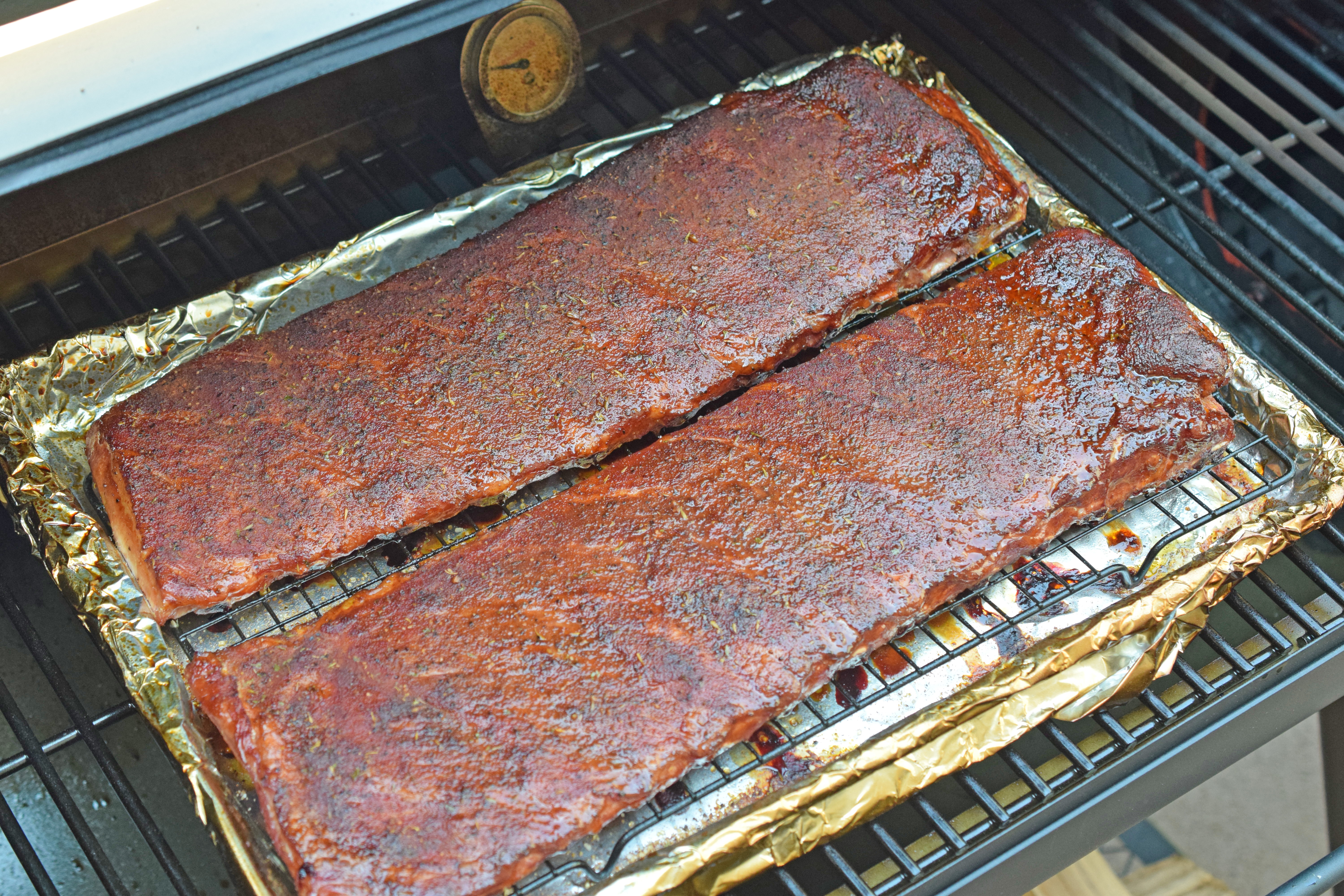 Memphis-Style Dry Rubbed Ribs